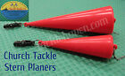 Church Tackle Stern Planers for Trolling TX-005 or TX-007 Choose Your Model! $19.95 USD on eBay