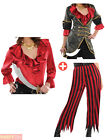 Ladies Pirate Costume Adults Caribbean Wench Fancy Dress Accessory Womens Outfit