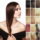 "15Colors Clip In100% Remy Hair Extensions Real Human Hair 16""-22"" Free Shipping"