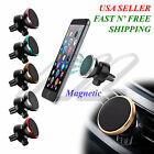 Universal 360 Rotating Magnetic Air Vent Car Mount Holder For Phones Tablets Gps