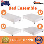 New Bed Ensemble Double Queen King Single Size Bed Frame Base Fabric