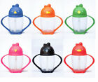 Lollacup Lollaland Infant Toddler Weighted Straw Sippy Cup Pink Orange Blue