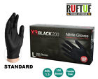 Black Nitrile Powder & Latex Free Disposable Gloves Tattoo Mechanic