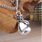Fashion Men's Women's Stainless Steel Boxing Glove Pendant Necklace Chain 1PCS