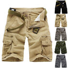 Hot Summer New Men's Casual Short Camouflage Pants Baggy Combat Cargo Shorts