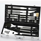 VIC 4-18 Piece Barbecue BBQ Grill Tool Stainless Steel Utensils Set Storage Case