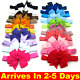 Watchers: 1923UK 20pcs Elastic Baby Headdress Kids Hair Band Girls Bow Newborn Headband