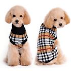 Small Dog Clothes Pet Winter Plaid Sweater Puppy Clothing Warm Apparel Coat <br/> For Small to Medium Dogs! SHIPS WITHIN 24 HOURS.