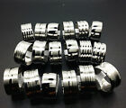wholesale silver mixed styles men's 12mm stainless steel fashion jewelry rings