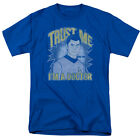 Star Trek McCoy TRUST ME I'M A DOCTOR Licensed Adult T-Shirt All Sizes