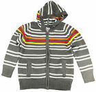 Urban Extreme Little Boys' Long Sleeve Striped Cardigan Sweater