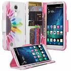 LG Phoenix 3 Design Wallet Credit Card ID Kick Stand Flip Phone Case Cover AT&T