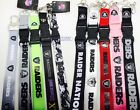 NFL Oakland Raiders Team keychain Lanyard Choose your Color