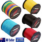 AU Stock 300M-1000M Dorisea Multicolor Blue Dyneema Braided Fishing Line