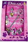 Tiara Wand and Jewellery Set - Princess Dressing Up / Fancy Dress Jewelry