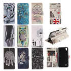 New Painted Wallet Flip PU Leather Phone Case Cover For ASUS Huawei Samsung LG