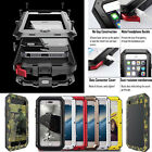 Waterproof Shockproof Aluminum Gorilla Metal Case Cover for iPhone X 6S 7 8 Plus