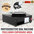 Photosensitive Seal Machine Self Inking clear seal impression Stamp Seal Maker