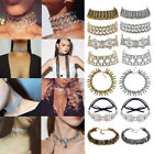 Crystal Choker Fashion Chunky Statement Women Chain Pendant Bib Necklace Charm