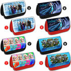FROZEN Personalised Pencil Case Make Up Bag Name Gift School Disney Elsa Anna