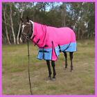 LOVE MY HORSE 1200D 300g 5'3 - 6'6 Waterproof Ripstop Winter Combo Pink Blue