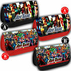 SUPER HEROES Personalised Pencil Case Bag School Any Name Gift Marvel Daredevil
