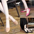 New Womens Ankle Strap Flats Shoes Suede Ballet Flats Boat Shoes Casual shoes
