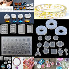 DIY Jewelry Pendant Silicone Mold Ornaments Resin Casing Hand Making Mould