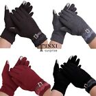 New Women's Winter Mittens Full Finger Touch Screen Gloves With Lace TXSU