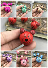 10pcs Variety Of Colors Wooden Round Bear Loose Beads Craft Beads Beaded 28mm