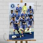 "Chelsea FC Football Club Team Top Players Canvas Print Poster A1 A2 A3 30""x20"""
