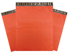 "1-1000 10x13 Red Color Designer Poly Mailer Shipping Self Seal Bags 10"" x 13"""