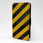 Warning Print Design Pattern Flip Case Cover For Apple iPod - P1186