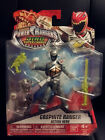 Bandai Power Rangers Dino Super Charge Graphite Ranger Brand New MIP