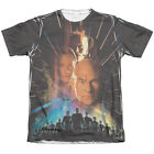 Star Trek FIST CONTACT POSTER 1-Sided Sublimated Big Print Poly Cotton T-Shirt on eBay