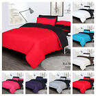 4PCS REVERSIBLE COMPLETE BEDDING SET WITH DUVET COVE, FITTED SHEET & PILLOW CASE