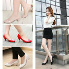 Women's Low Heel Shoes Pumps Shoes Spring Casual Solid Party Office Work Shoes