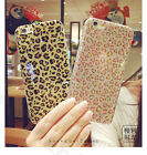 New Leopard Sparkle Bling Glitter Soft Gel TPU Case Cover For iPhone 6S/7/7 Plus