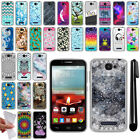 For Alcatel One Touch Fierce 2 7040T TPU SILICONE Protective Case Cover + Pen