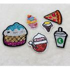 ice cream DIY Sequins Ironing embroidery decals iron Patch applique badge Dress