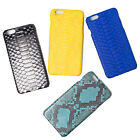 Kanthima Apple iPhone 6 Plus 6s Plus Genuine Python Skin Leather Case Cover