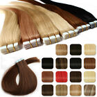 Fashional Skin Weft Tape in 100% Remy Human Hair Extensions Virgin 20/40pcs AU