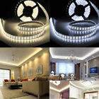 12V 5M SMD 3528 1200Leds Non Waterproof Flexible Warm Cool White LED Strip Light