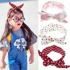 Adorable Newborn Infants Girl Baby Bow Headband Hair Band Accessories Headwear