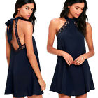 Womens Bandage Lace Mini Dress Evening Party Coacktail Casual Summer Sundress AU