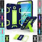 Hybrid Shockproof Rugged Hard Stand Tablet Case For Samsung Galaxy Tab A 10.1