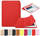 Luxury Slim Smart Leather Stand Cover Silicone Back Case Cover (GF) For iPad