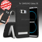 For Samsung Galaxy S8/S8 Plus Kickstand Shockproof Hybrid IMPACT Hard Case Cover