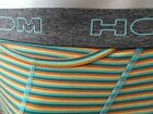 """BOXER  HOM   HO1 """"BOXERLINE""""  RAYURES VERTES  Taille  3-4-5"""