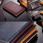 Leather Smart Case Stand Magnetic Cover & Hand Rope for iPad 9.7 Released 2017